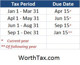 Quarterly-Schedule