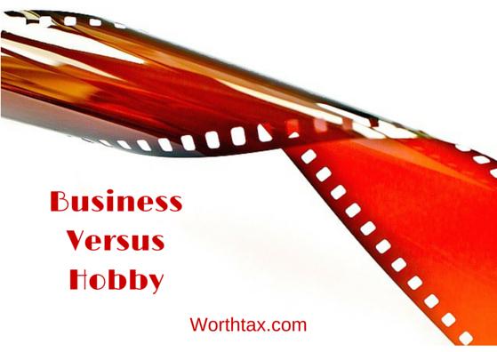 Business versus Hobby
