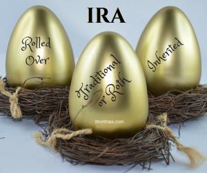 Traditional IRA, Roth IRA, Inherited IRA, IRA Basis, Tax Basis, Rolled-Over IRA, non-deductible IRA contribution, cost basis, retirement