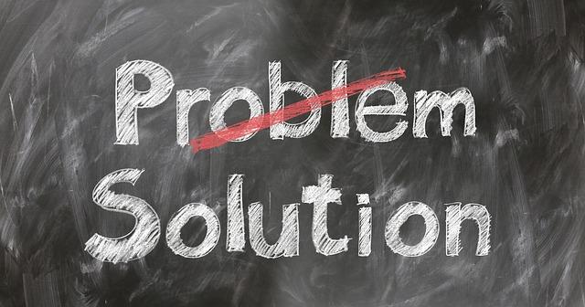 Problem Solution, Question mark, Help