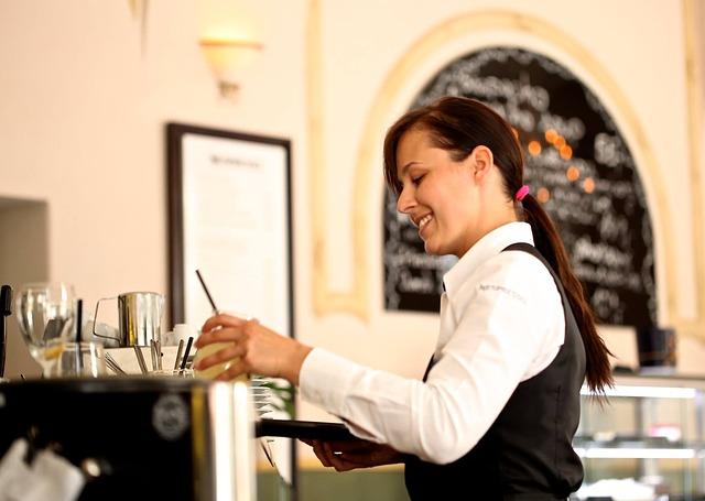 self employed teens, tips, waitress, waiter, wait staff, student